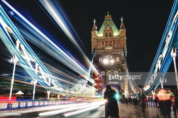tower bridge - british culture stock pictures, royalty-free photos & images