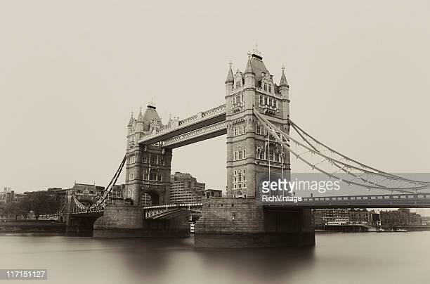 tower bridge - old london stock photos and pictures