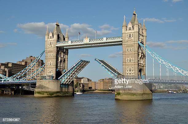 Tower bridges iconic opening