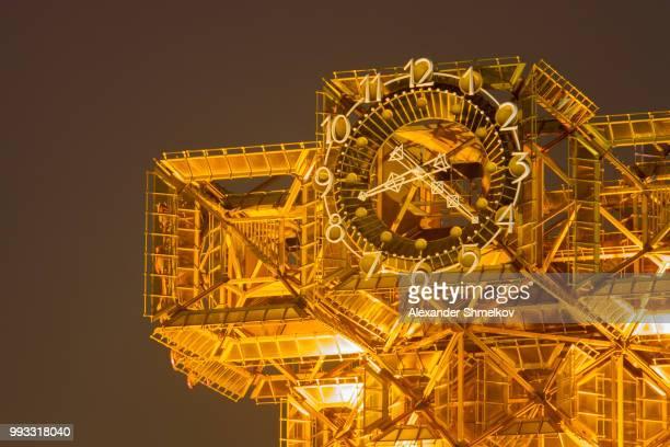 4D tower clock