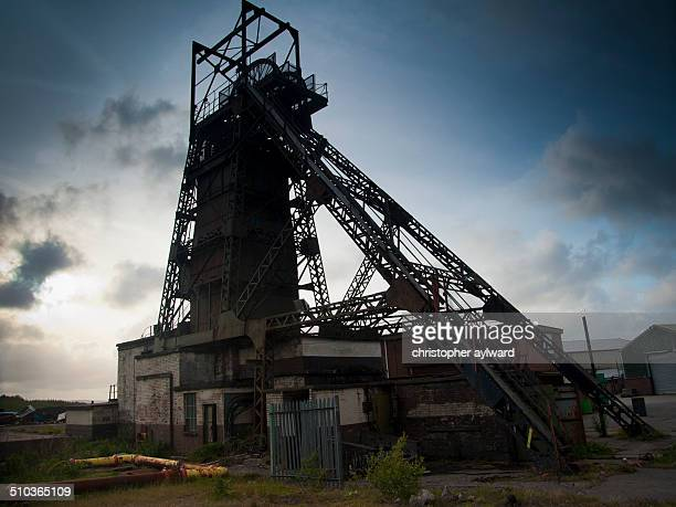 Tower colliery, one of the last surviving deep coal mines in the South Wales Valleys. Bough out by the miners and run for almost 20 years after the...