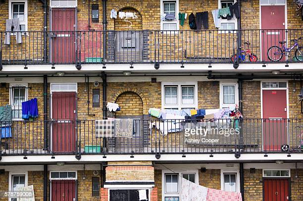 Tower Hamlets a poor sink estate in London