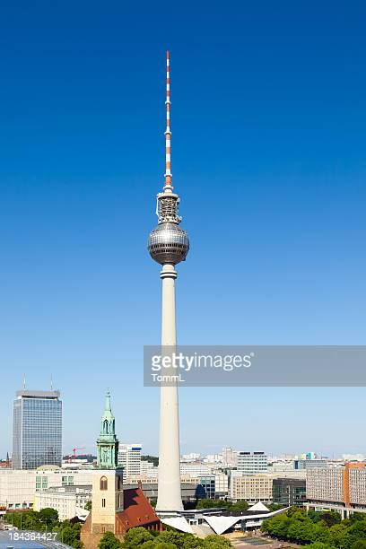 TV Tower in Berlin, Germany