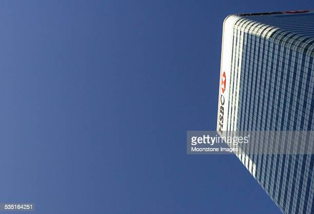 HSBC Tower in Canary Wharf, London