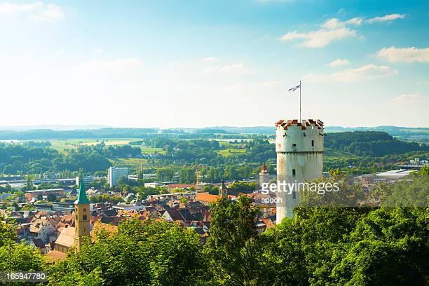tower in ravensburg, deutschland - ravensburg stock-fotos und bilder