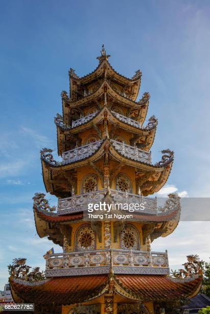 Tower in Vietnam Pagoda