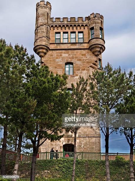 Tower Mount Igeldo San Sebastian Guipuzcoa Basque Country Spain
