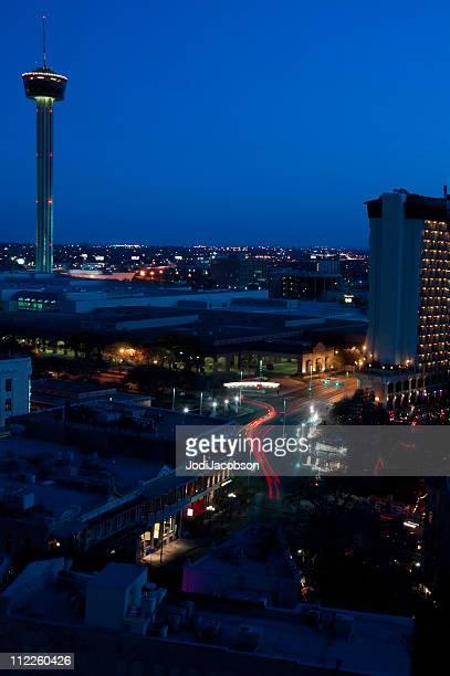 Tower of America in San Antonio Texas City  Aerial