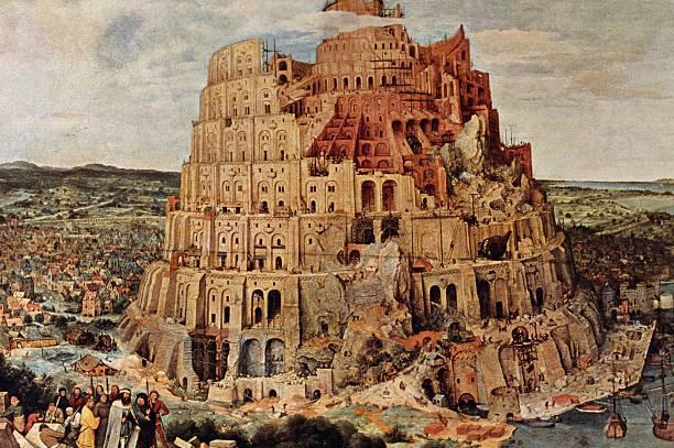 Tower of Babel by Pieter Bruegel or Brueghel oil on canvas 114x155 cm