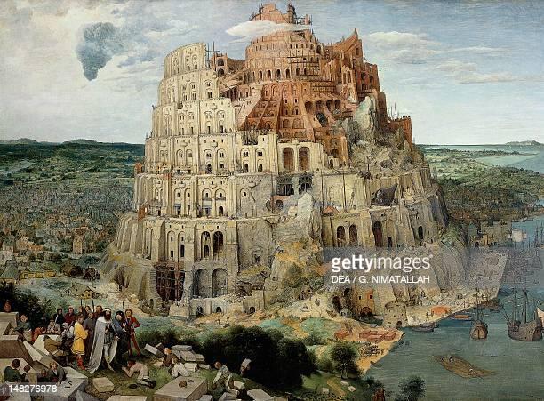 Tower of Babel by Pieter Brueghel the Elder oil on canvas 114x155 cm Vienna Kunsthistorisches Museum