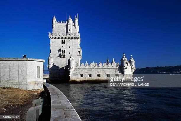Tower of Belem by Francisco de Arruda 15151521 Belem Lisbon Historical Province of Extremadura Lisbon Portugal 16th century