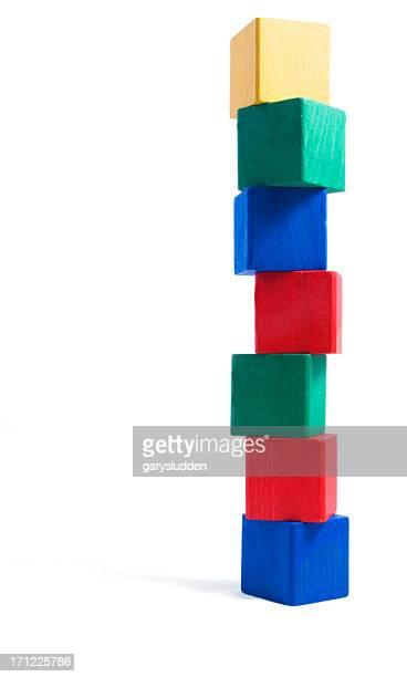 tower of blocks,