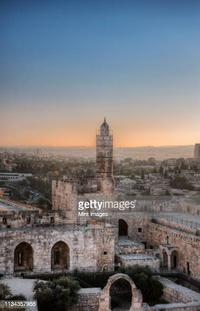 tower of david - historical palestine stock pictures, royalty-free photos & images