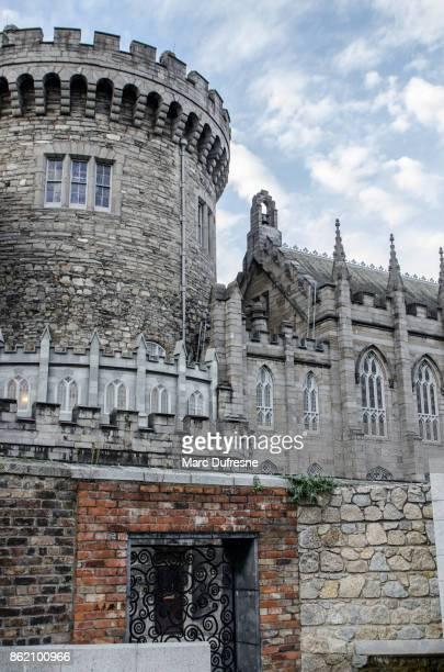 タワーのダブリンの城 - ダブリン城 ストックフォトと画像