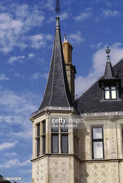 Tower of Grand Ducal Palace, 1545-1604, Luxembourg City, Luxembourg, 16th-17th century.