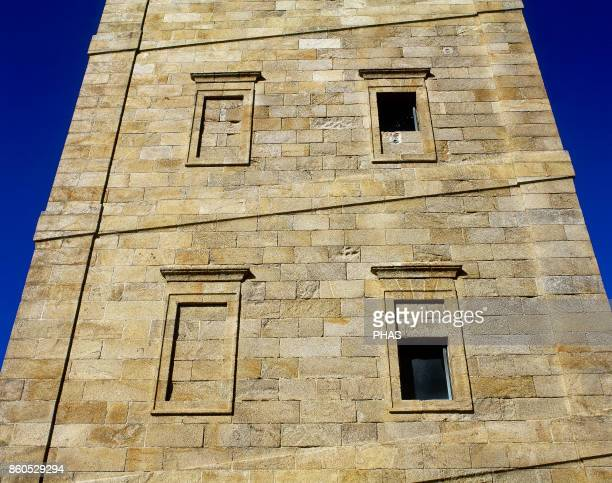 Tower of Hercules Detail Ancient roman lighthouse although its primitive origin is unknown It was rebuilt in the times of Emperor Trajan The current...