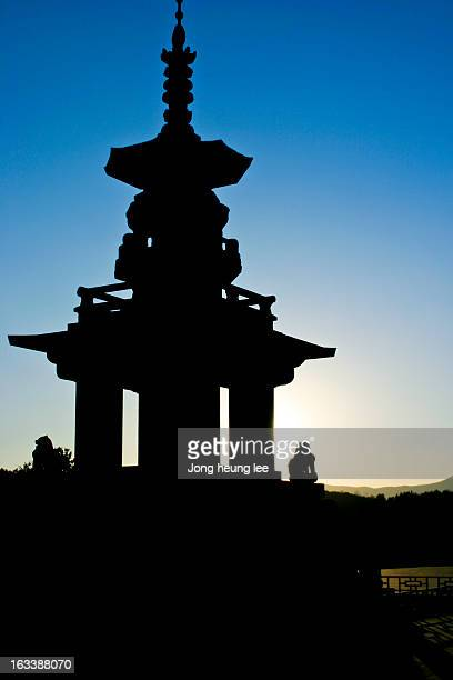 tower of korea - jong heung lee stock pictures, royalty-free photos & images