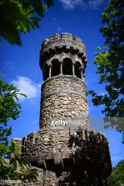 Tower of Leda's Grotto at Quinta da Regaleira Sintra Portugal