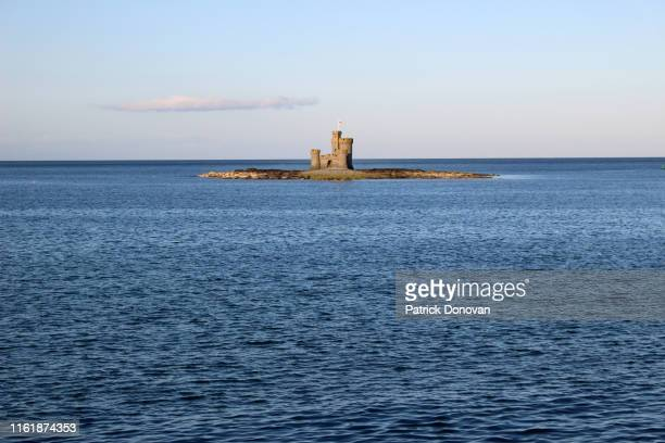 tower of refuge, st. mary's isle, isle of man - isle of man stock pictures, royalty-free photos & images