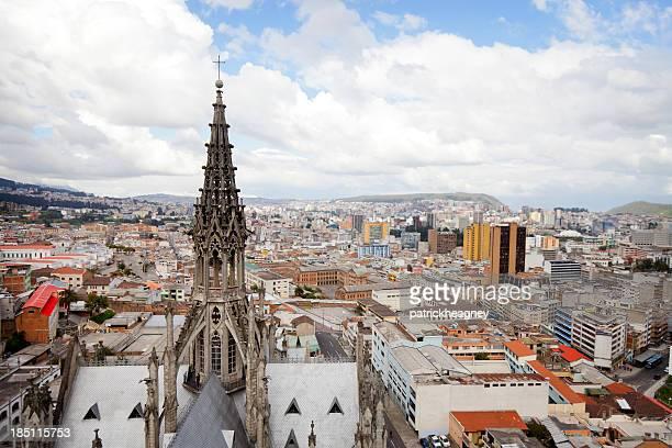 Tower of the Basilica Del Voto Nacional