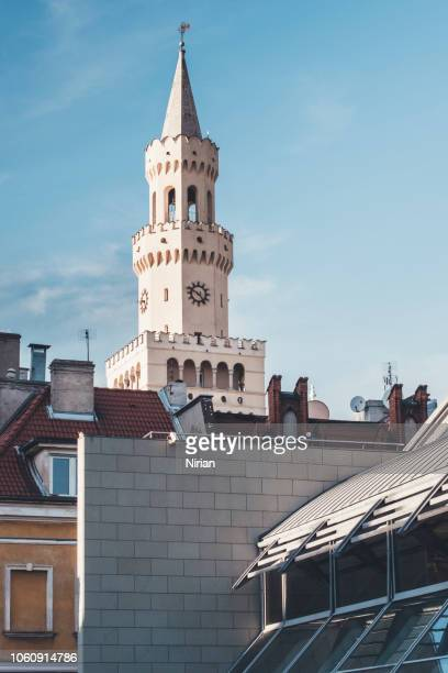 Tower of Town Hall in Opole