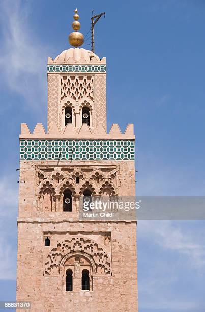Tower or minaret, Koutoubia Mosque, Marrakesh, Morocco