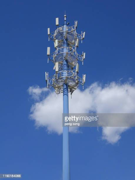 5g tower - tower stock pictures, royalty-free photos & images