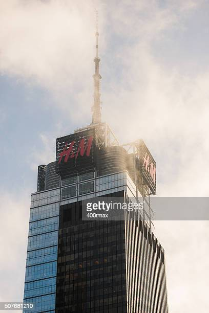 h&m tower - modern essentials by h&m stock pictures, royalty-free photos & images