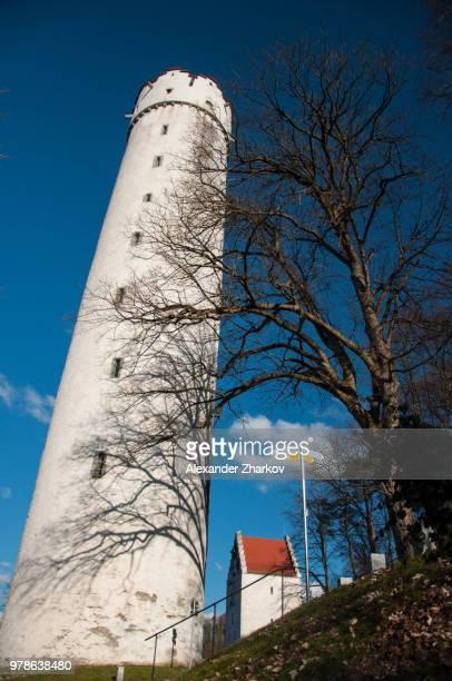 tower. ravensburg. - ravensburg stock-fotos und bilder