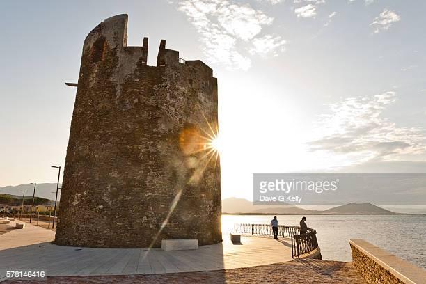 Tower, Saint Lucia, Nuoro, Sardinia, Italy