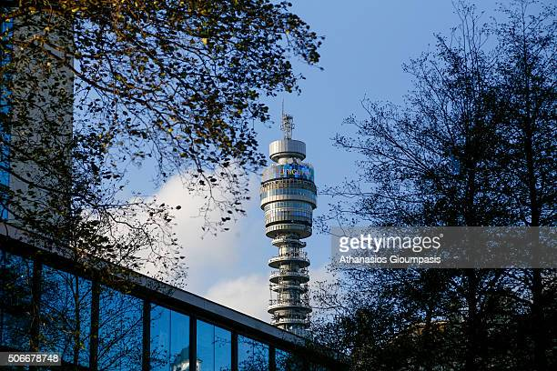 Tower the tallest building completed in London in the 1960 on December 31 2015 in London England The main structure is 177 metres high with a further...