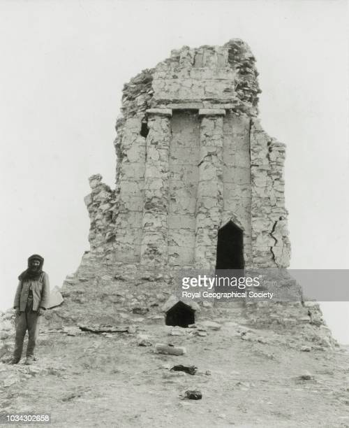 Tower tomb at Irzi Iraq circa 1909