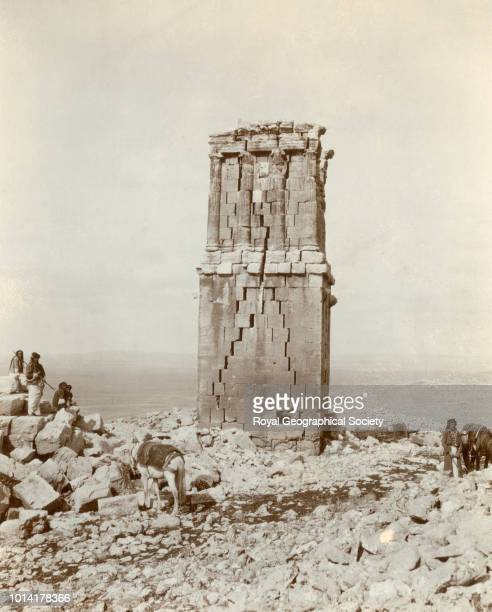 Tower tomb Serrin Syria 1909