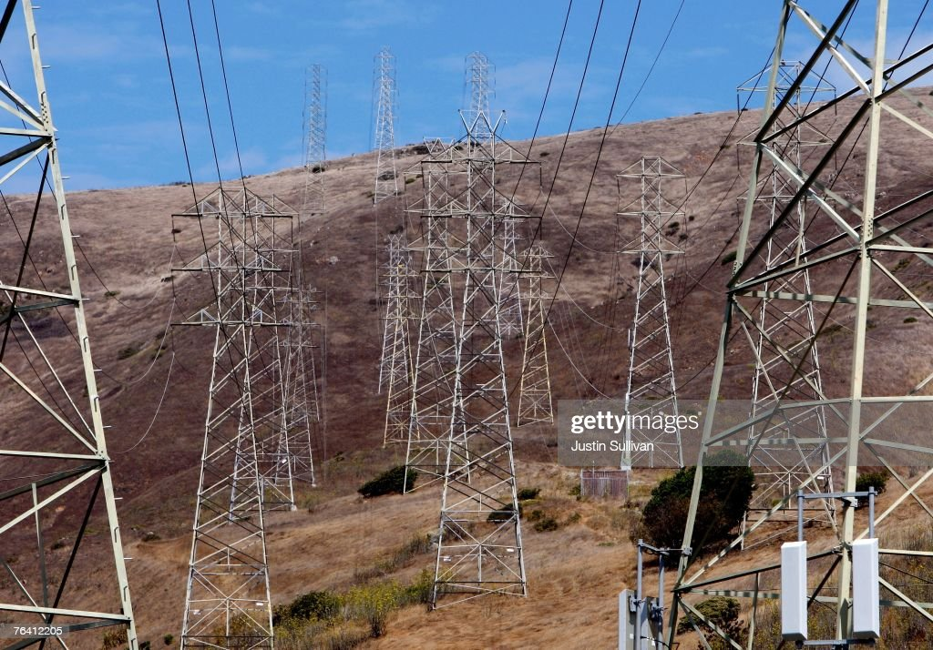 California Power Grid Strained By Heat Wave : News Photo