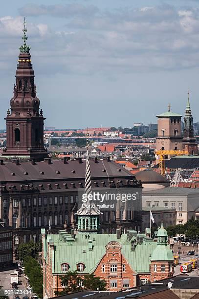 Towers in Copenhagen