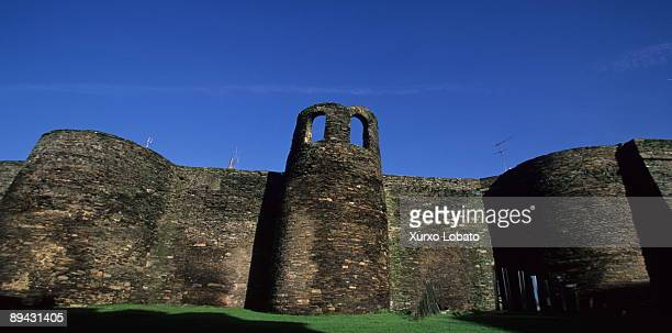 Towers of Mosqueira Roman Walls of Lugo Galicia The wall is the most impressive testimony left by the Romans in Galicia A city wall two thousand...