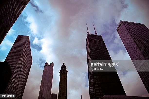 towers - ken ilio stock pictures, royalty-free photos & images