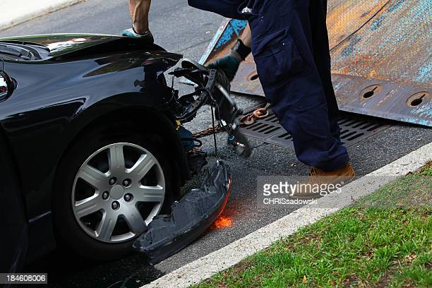 towing car - towing stock photos and pictures
