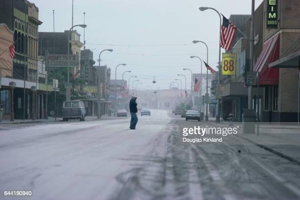 Town After Mount St Helens Eruption