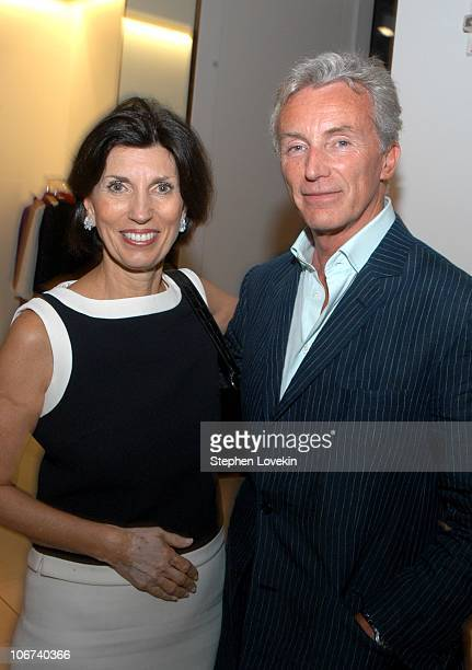 Town and Country editorinchief Pamela Fiori and George Campbell Gray