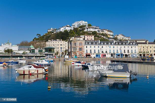 Town and Harbour, Torquay, Devon, England