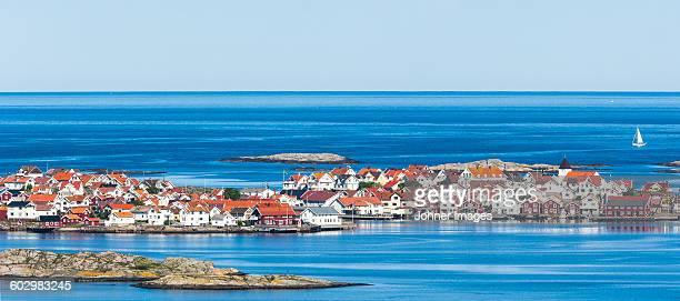 Town at sea