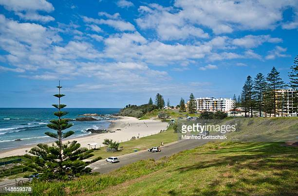 town beach. - port macquarie stock pictures, royalty-free photos & images
