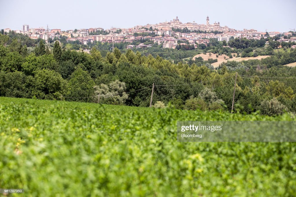 Italy's Immigration Policies Impact The Hilltop Town of Macerata