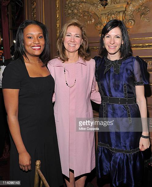 Town & Country magazine editor Alexis Clark, philanthropist Silda Wall Spitzer, and author Jill Kargman attend City Harvest's 7th Annual On Your...