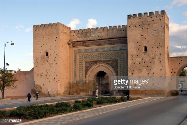 Town gate Bab el-Khamis, Meknes, Morocco