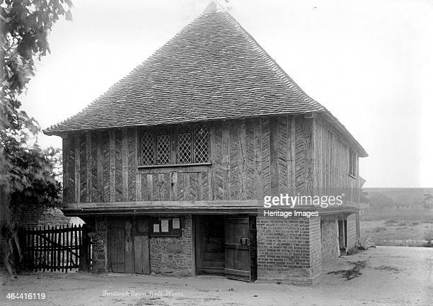 Town Hall Fordwich Kent 18901910 Fordwich Town Hall possibly dates from the early 15th century It contains a prison and storeroom on the ground floor...