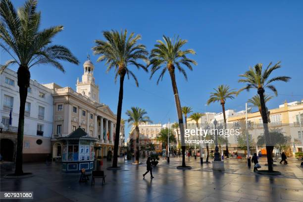 Town Hall of Cadiz, Andalusia, Spain