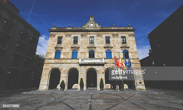 Town Hall of Gijon, Asturias, Spain