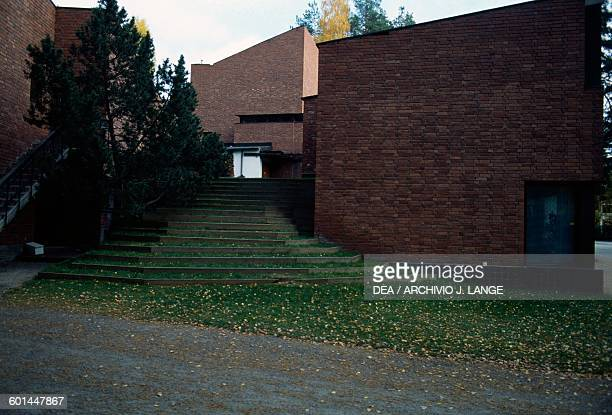 Town Hall of Saynatsalo 19491952 designed by Alvar Aalto Jyvaskyla Finland 20th century